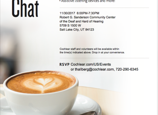 Cochlear Coffee Chat
